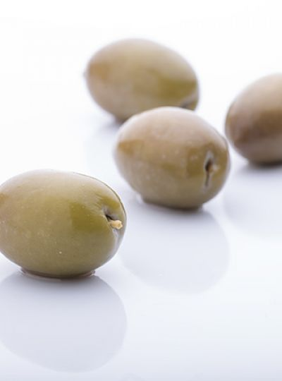 Natural Whole Green Olive